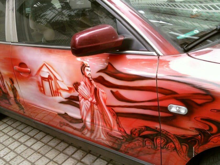 Car Painting Street Photography Automotive 740213