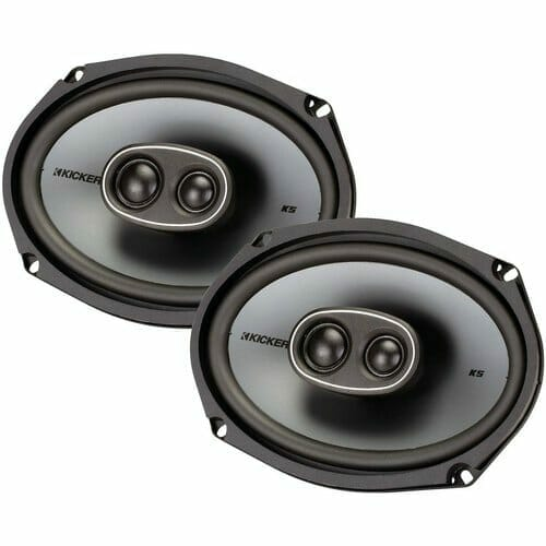 kicker ksc 6934 6x9 multi way hi performance oval car speaker peak power 300 500x500 1